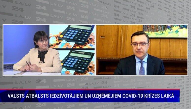 Finanšu ministrs par nodokļu politiku
