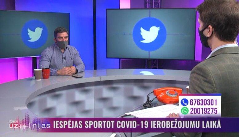 Kuzņecovs: Sporta klubi vēl cer uz valsts atbalstu