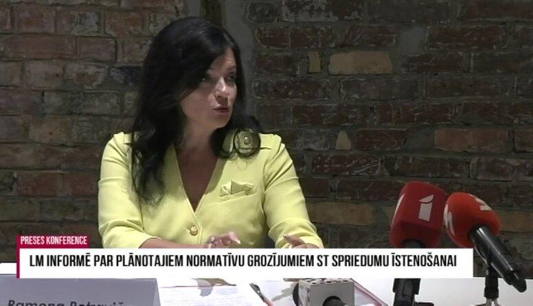 Petraviča: Sociālo pabalstu celšanai papildus nepieciešami ap 150 miljoniem eiro