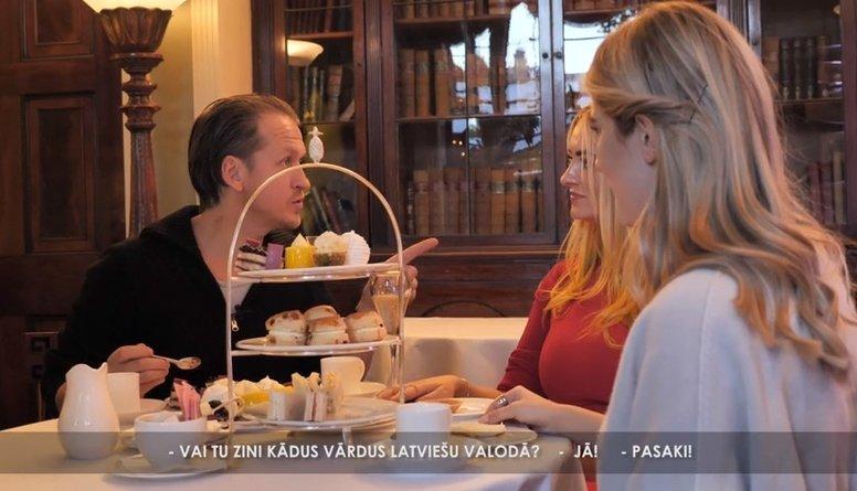Kādus vārdus latviešu valodā iemācījusies poliete? Ne tos pieklājīgākos...