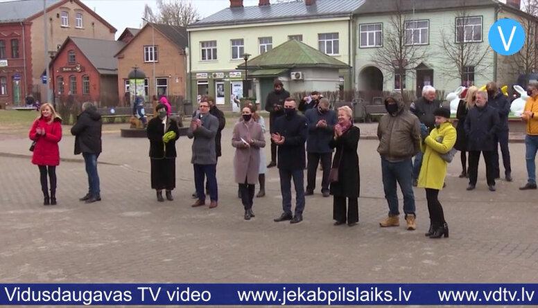 Apvienojamā Jēkabpils novadā reģistrēto deputātu kandidātu sarakstiem izlozēti numuri