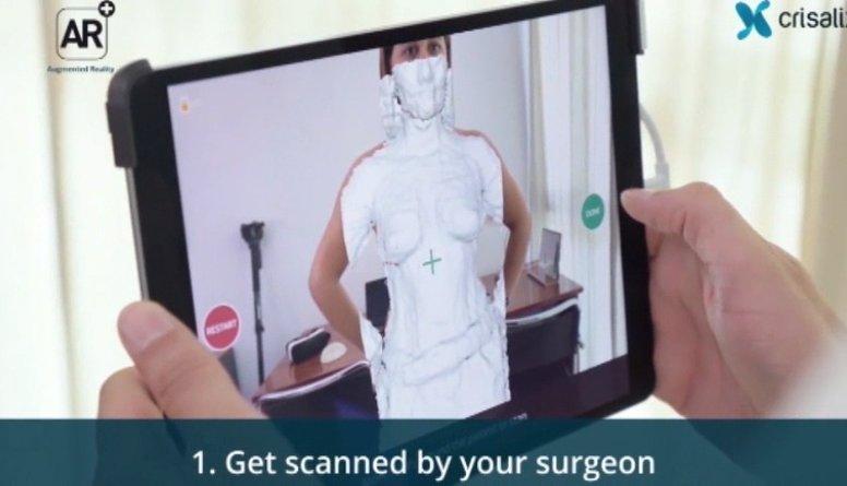 3D tehnoloģijas palīdz uzzināt, kāds būs rezultāts pēc plastiskās operācijas