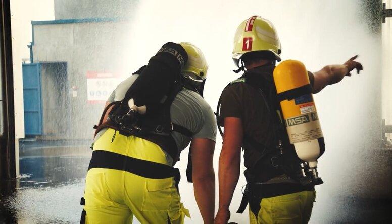 Rīgas ostā norisinājās vietējā līmeņa praktiskās civilās aizsardzības mācības