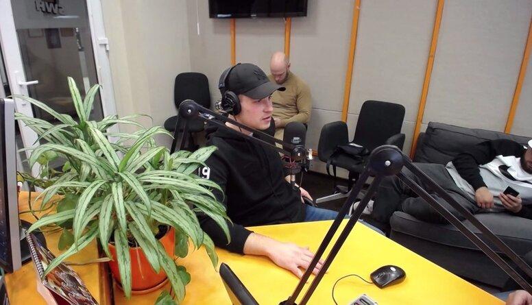 VAKARA SPORTA STUNDA: Viesos Sandis Zolmanis, Jānis Eisaks un Kristaps Zutis