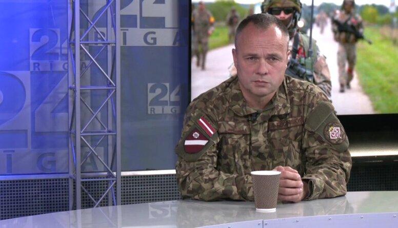 Egils Leščinskis: Pašlaik ir sasniegta 99% profesionālā dienesta karavīru vakcinācija