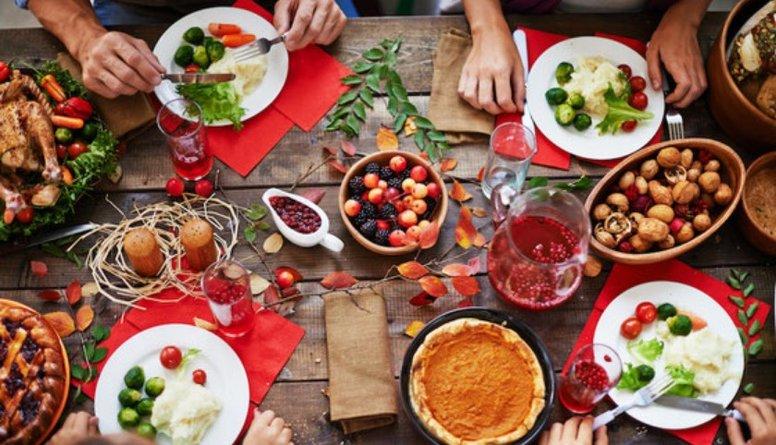 Idejas veselīgam Ziemassvētku galdam!