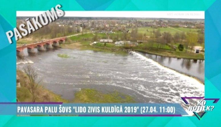 """Svini pavasara svētkus pasākumā """"Lido Zivis Kuldīgā 2019""""!"""