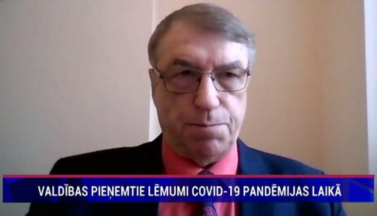 Ivars Kalviņš par Covid-19 izplatīšanas ierobežošanu Latvijā