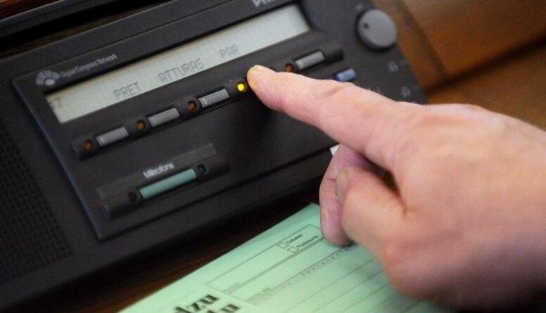 Borovkovs: Deputātam ir tiesības atturēties, bet viņš nedrīkst nebalsot