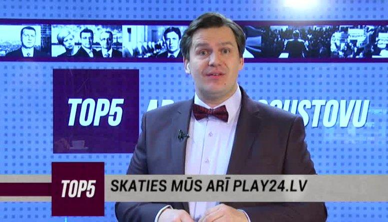 23.03.2017 Ziņu top 5