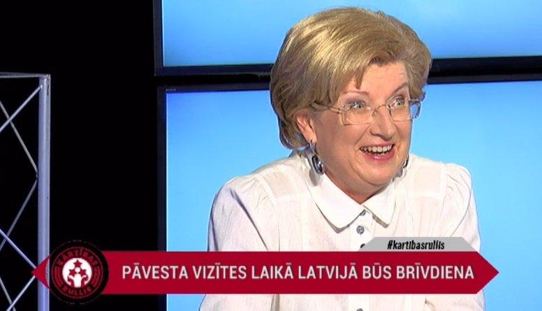Ko Sudraba domā par pāvesta vizīti Latvijā un tās izmaksām?