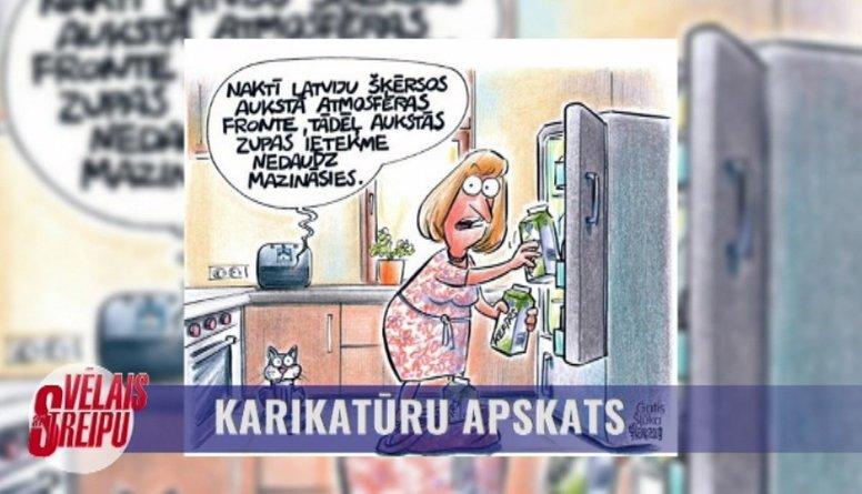 Karikatūru apskats: Bietes un kefīrs ir?