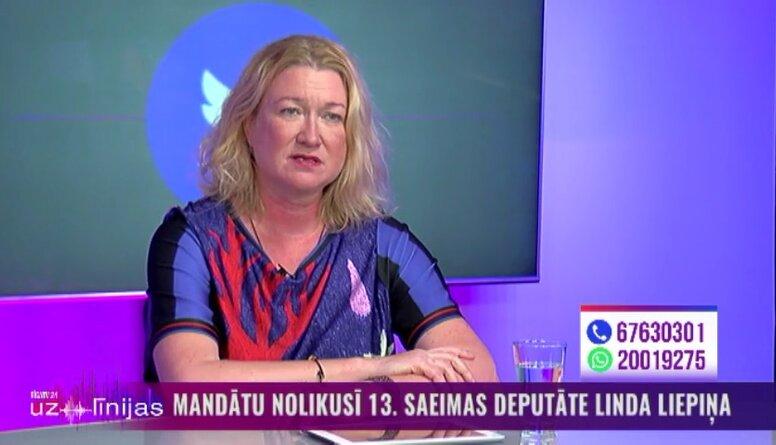 Kāpēc Linda Liepiņa nolika deputātes mandātu?
