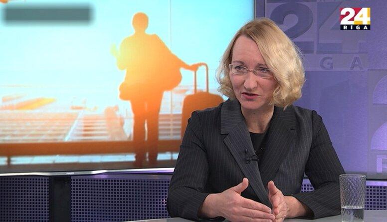 Melbārde: Valdības spēja pieņemt pareizus lēmumus būs izšķiroša, vai darba spēks paliks Latvijā