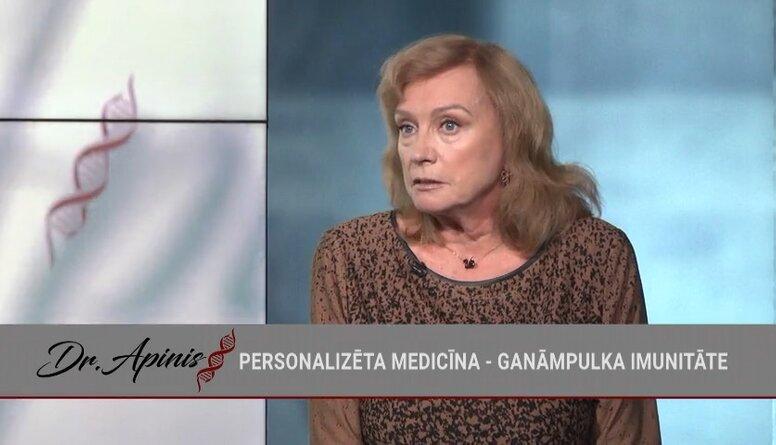 Gunta Vīlere stāsta, kāds medikaments var palīdzēt Covid-19 saslimšanas gadījumā