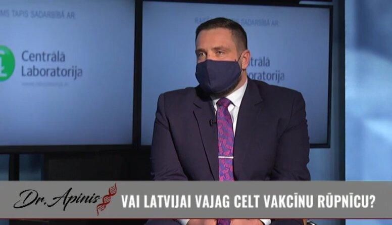 Ekonomikas ministrs par iespējamību Latvijā celt vakcīnu rūpnīcu