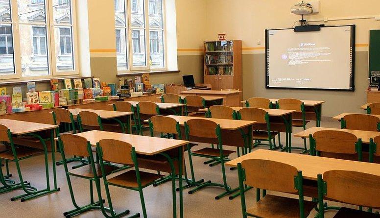 Divi metri skolas klasē -  maz ticami
