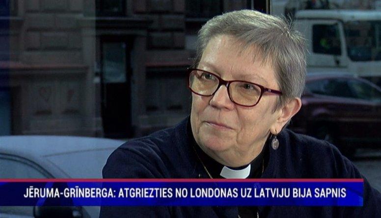 """Jēruma-Grīnberga: """"Atgriezties Latvijā bija sapnis."""""""