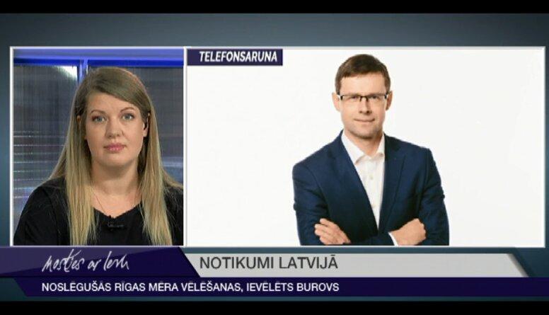 Noslēgušās Rīgas mēra vēlēšanas - ievēlēts Oļegs Burovs