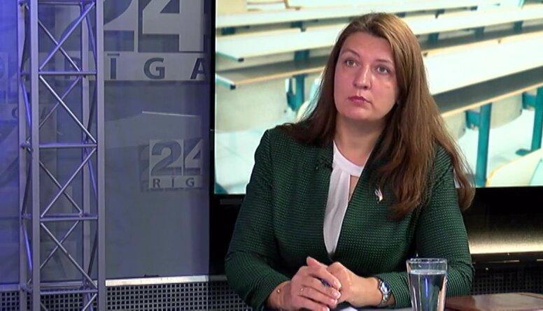 Inga Vanaga par iespējamo pieprasījumu izglītības ministres Šuplinskas demisijai