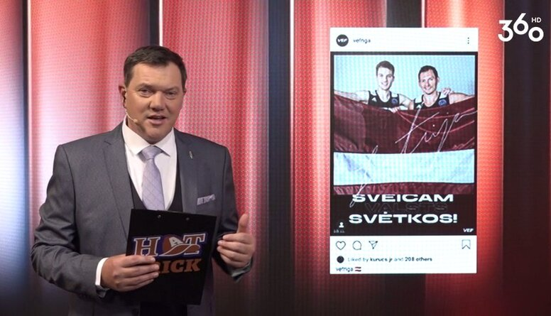 Kā sportisti sveica Latviju sociālajos tīklos?