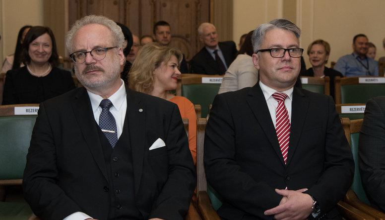 Levits prezidenta amatā plāno sadarboties ar Tiesībsargu Juri Jansonu