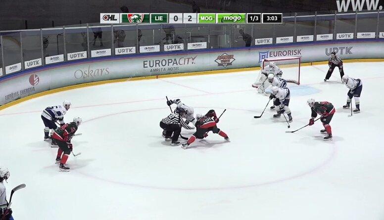 Optibet hokeja līga: HK Liepāja - HK Mogo/LSPA Spēles ieraksts.