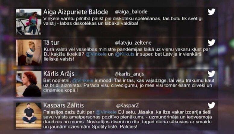 Tvitersāga: Karantīnas diskotēka