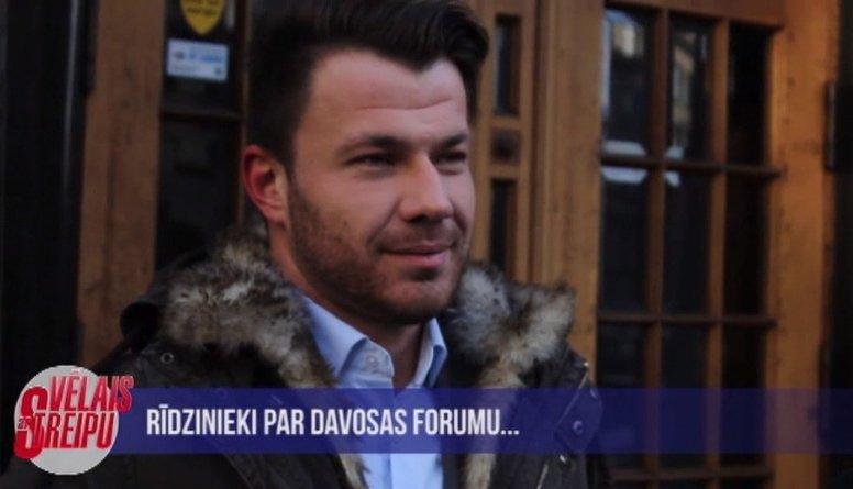 Iedzīvotāji par Davosas forumu