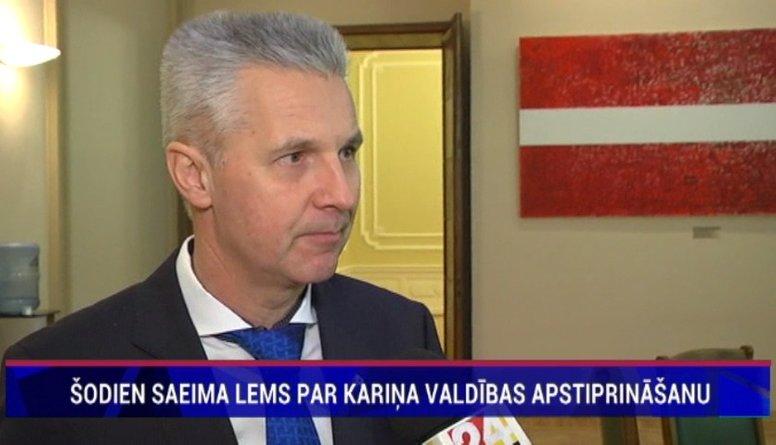 Arta Pabrika komentārs pēc valdības deklarācijas parakstīšanas