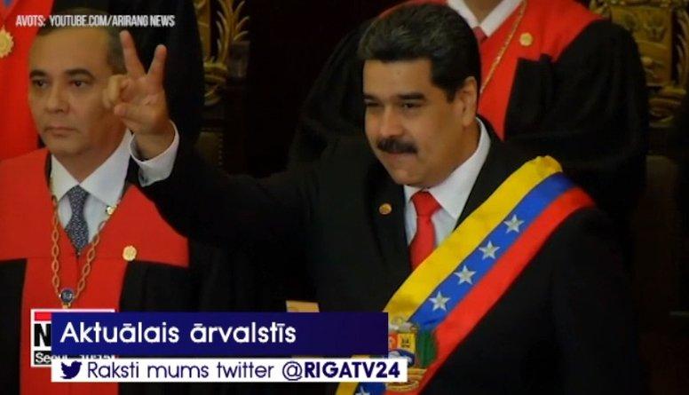 EP prezidents: Maduro nekavējoties jāatkāpjas no amata