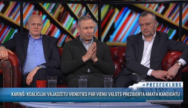 Rēvalds aicina politiķiem izvēlēties prezidenta kandidātus valstisku interešu vadītiem