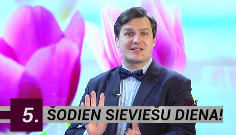 08.03.2017 Ziņu top 5