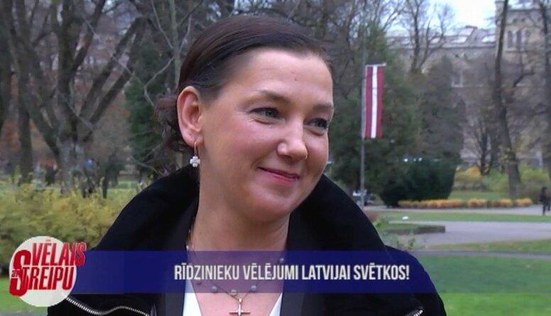 Rīdzinieku vēlējumi Latvijai svētkos!