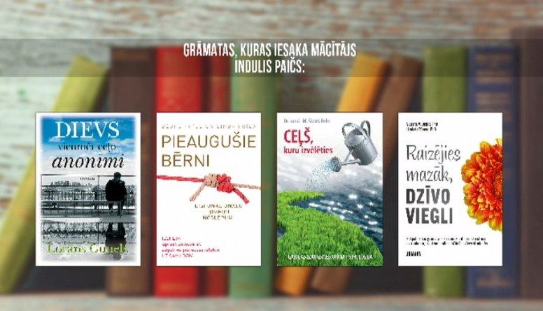 Grāmatas, kuras iesaka izlasīt mācītājs Indulis Paičs