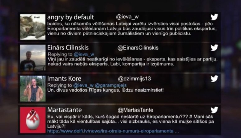 Tvitersāga: Eiroparlamenta vēlēšanas tuvojas!