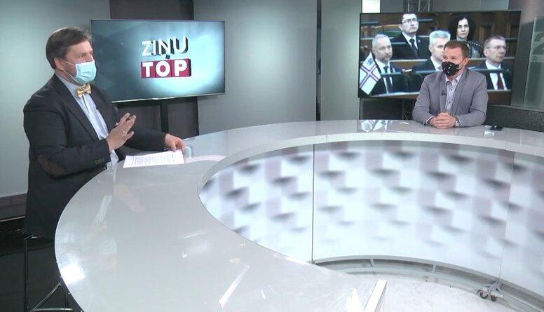 Deputāts Dzintars nepiekrīts Levitam: Tas nebija parlamentārais negadījums