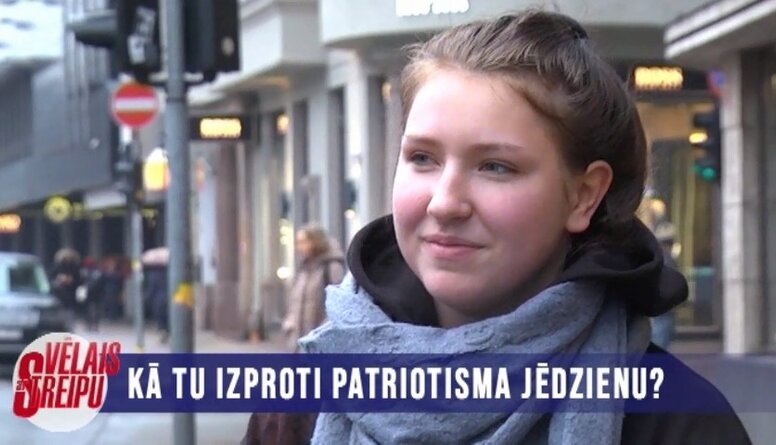 Kā izproti jēdzienu 'patriotisms'?