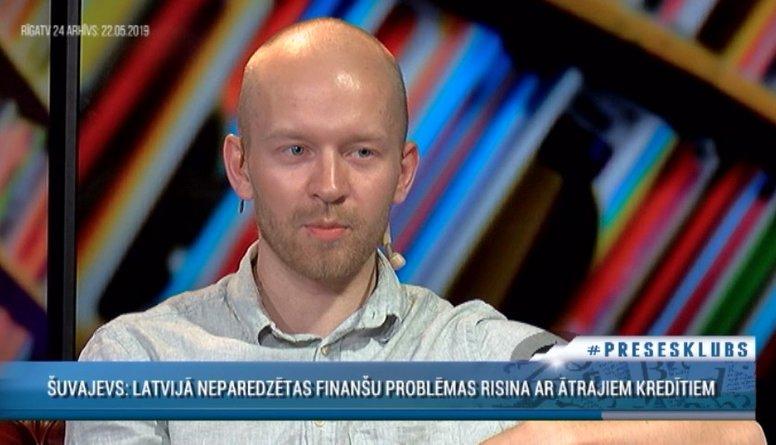 Šuvajevs: Latvijā neparedzētas finanšu problēmas risina ar ātrajiem kredītiem