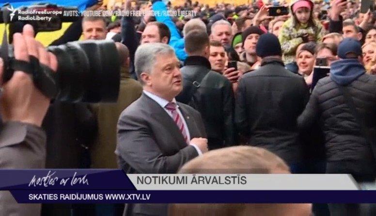 Zelenskis neierodas uz debatēm ar Porošenko