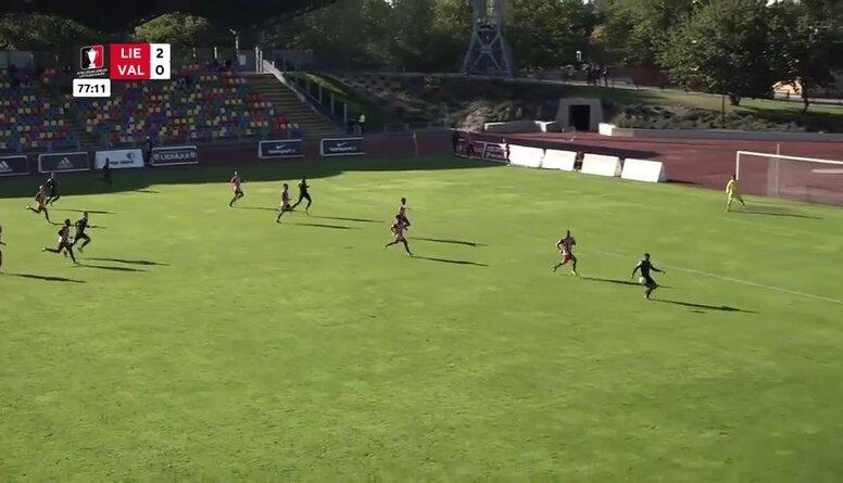 Atbildīgas spēles Latvijas kauss futbolā: FK Liepāja - Valmiera FC. Spēles ieraksts.