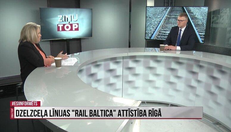 """Vilnis Ķirsis neizslēdz iespēju, ka """"Rail Baltica"""" būvniecības termiņi tiks pagarināti"""