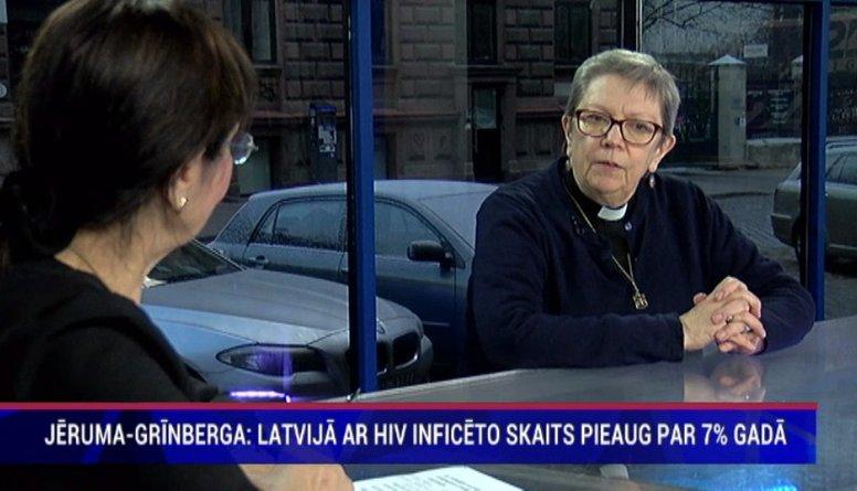 """Jēruma-Grīnberga: """"Baznīca var palīdzēt noņemt stigmu AIDS slimniekiem"""""""