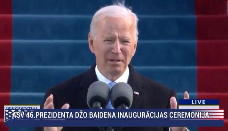 Speciālizlaidums: ASV 46. prezidenta inaugurācijas ceremonija  1. daļa