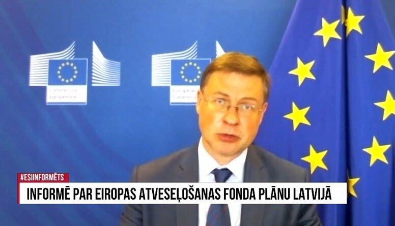 Speciālizlaidums: Informē par Eiropas atveseļošanas fonda plānu Latvijā