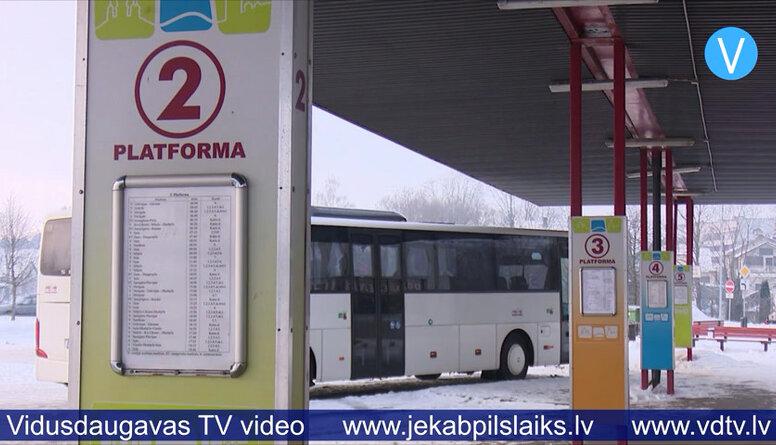 Pasažierus grib pārvadāt uzņēmums no Tukuma