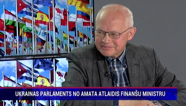 Ukrainas parlaments no amata atlaidis finanšu ministru