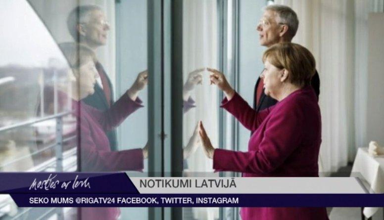Kariņš ar Merkeli Berlīnē pārrunājis Latvijas un Vācijas sadarbības iespējas