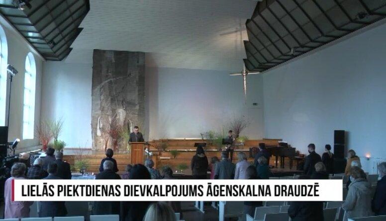 Lielās piektdienas dievkalpojums Āgenskalna draudzē