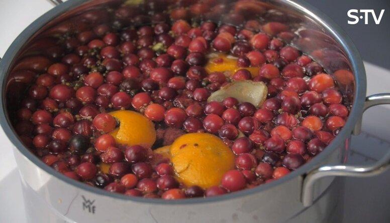 Vitamīniem bagāta siltā dzēriena recepte